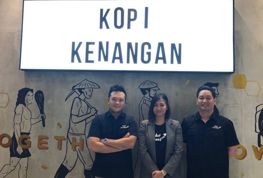 Ketiga co-founder PT Bumi Berkah Boga (Kopi Kenangan)