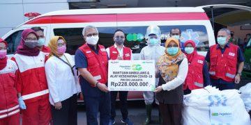 Pegadaian sumbangkan ambulans dan perangkat medis