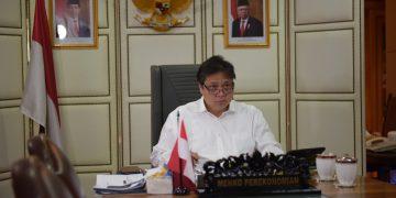 Menteri Koordinator Bidang Perekonomian Airlangga Hartarto