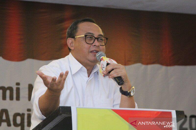 Sekretaris Kementerian Koperasi dan UKM Rully Indrawan/Antara