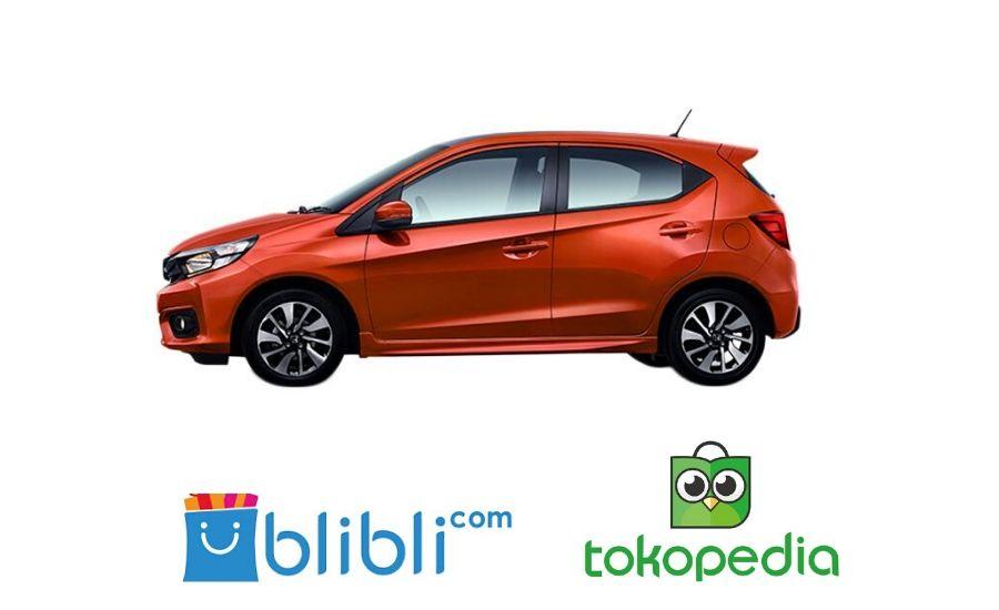 Ilustrasi Honda berkolaborasi dengan 2 e-commerce:Ist