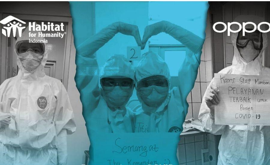 Ilustrasi program donasi untuk tenaga medis:OPPO