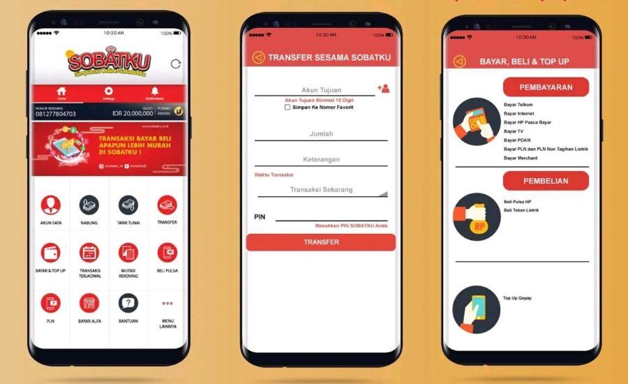 Aplikasi mobile koperasi/Ist