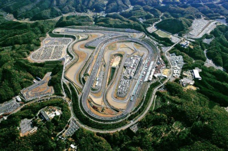 Foto udara Sirkuit Twin Ring Motegi Jepang/Antara