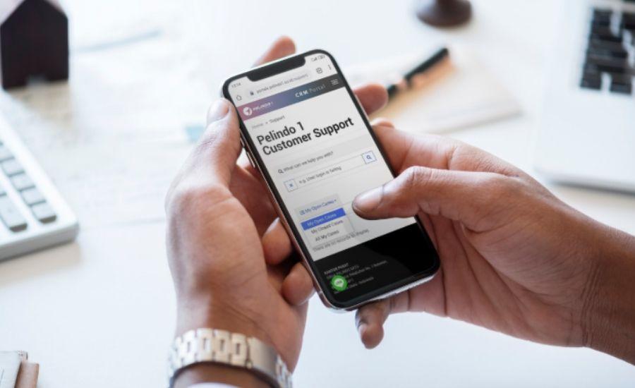 Aplikasi Customer Relationship Management (CRM) yang digunakan untuk manajemen hubungan pelanggan Pelindo 1/Pelindo 1