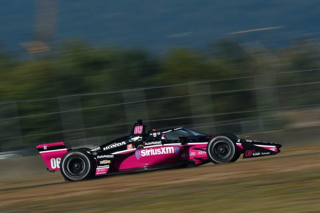 Helio Castroneves Meyer Shank Racing IndyCar