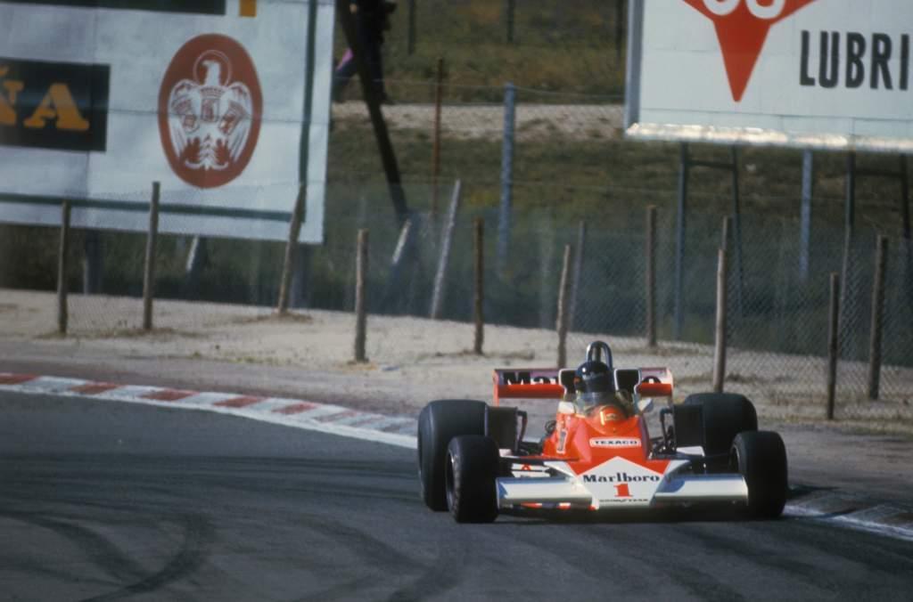James Hunt McLaren 1977