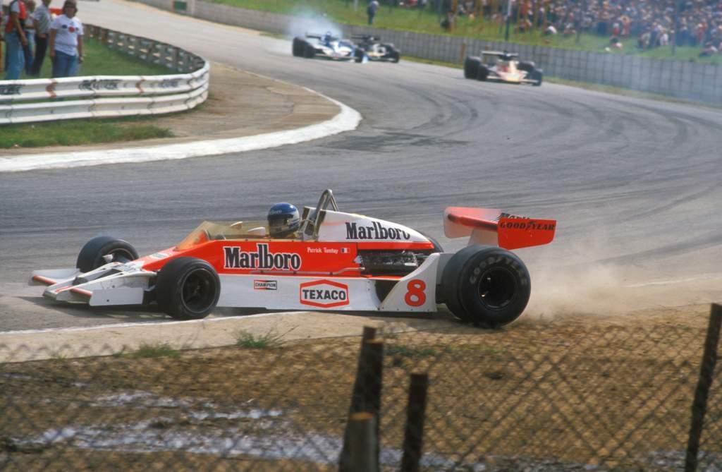 Patrick Tambay McLaren 1978