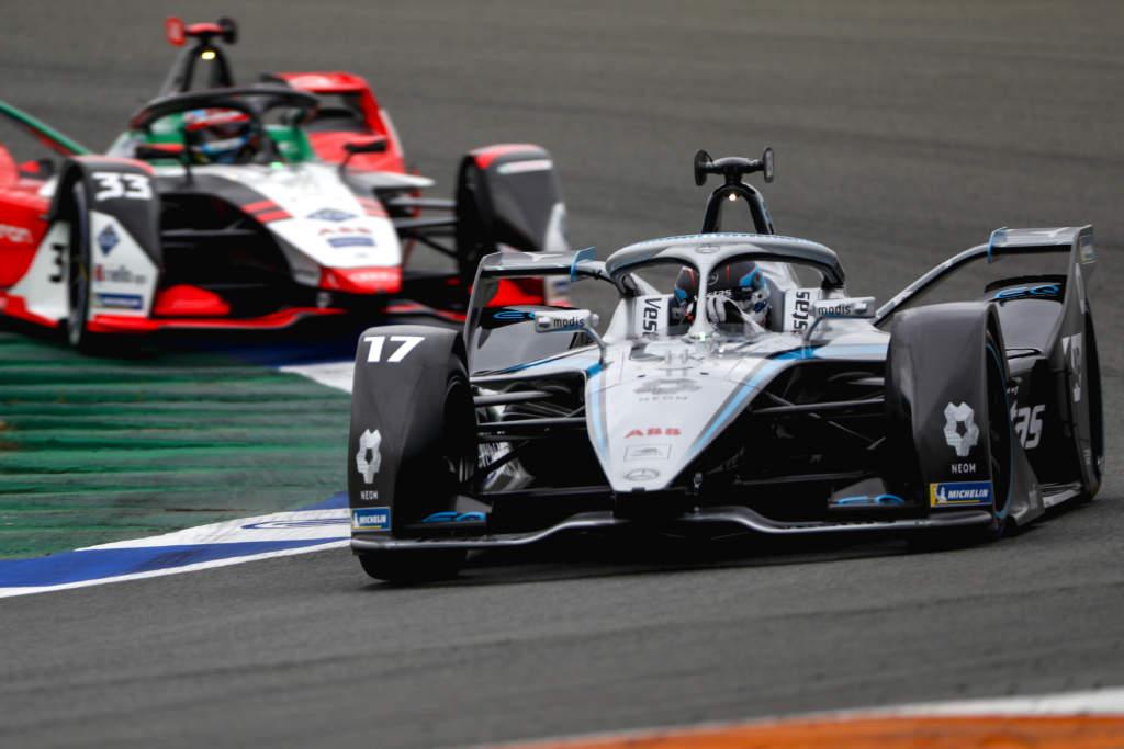 Mercedes Audi Formula E Nyck de Vries
