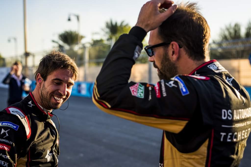 Antonio Felix da Costa Jean-Eric Vergne DS Techeetah Formula E