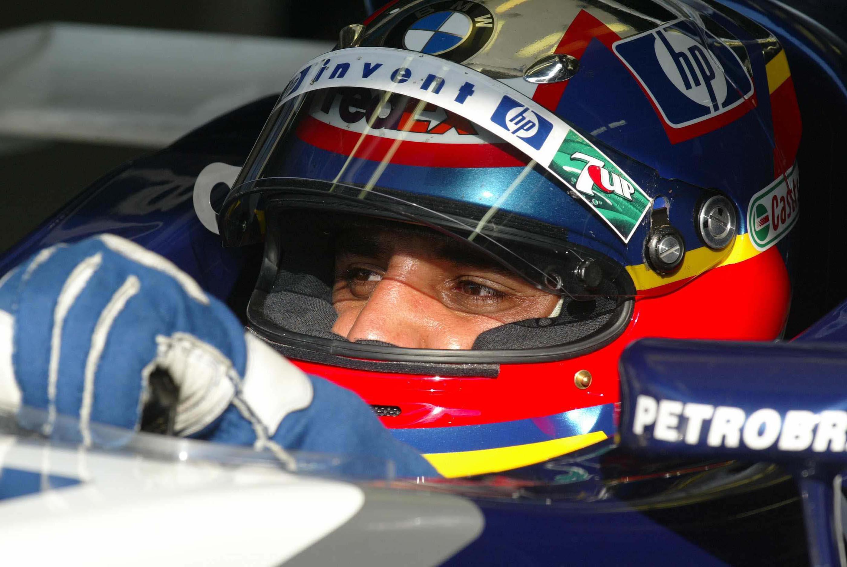 F1 Test In Monza 2003......