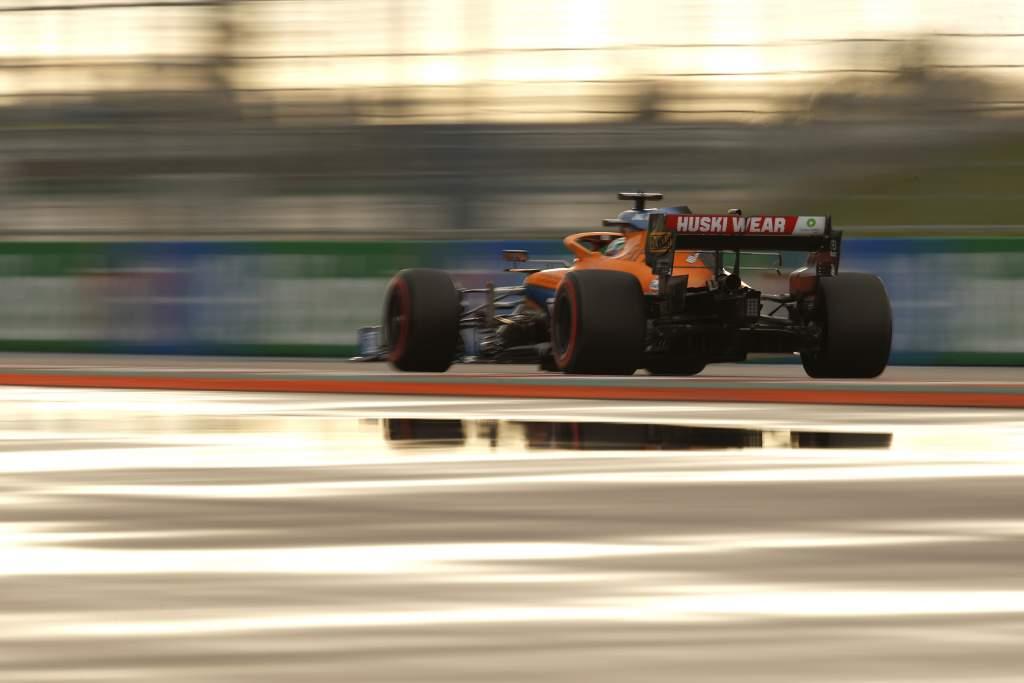 Daniel Ricciardo, Mclaren Mcl35m From Rear