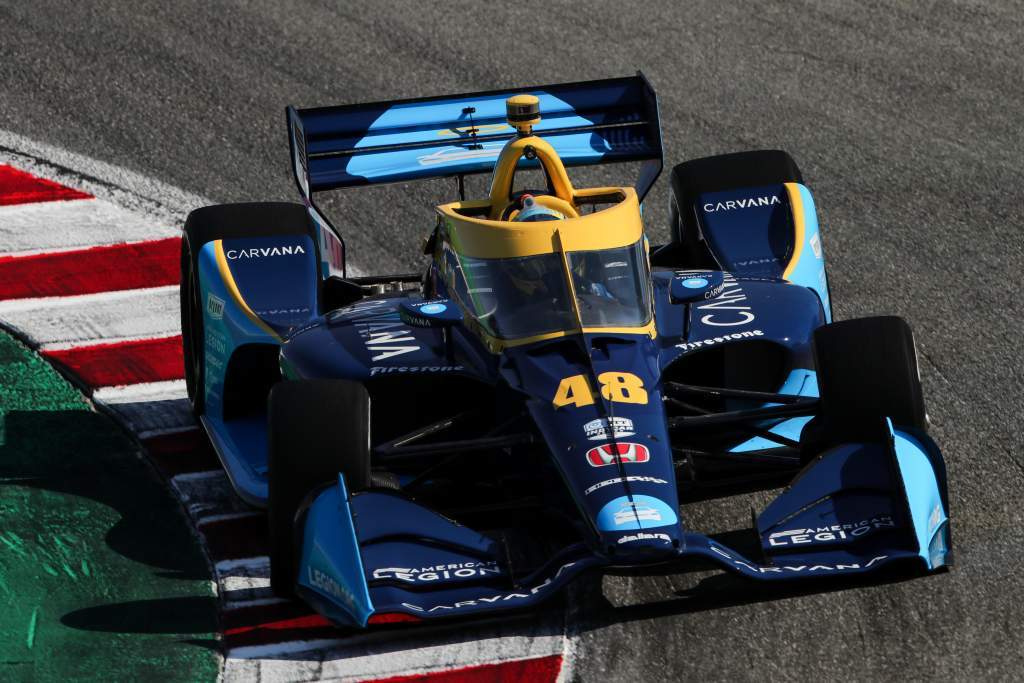 Johnson's given Ganassi an unexpected IndyCar bonus - The Race