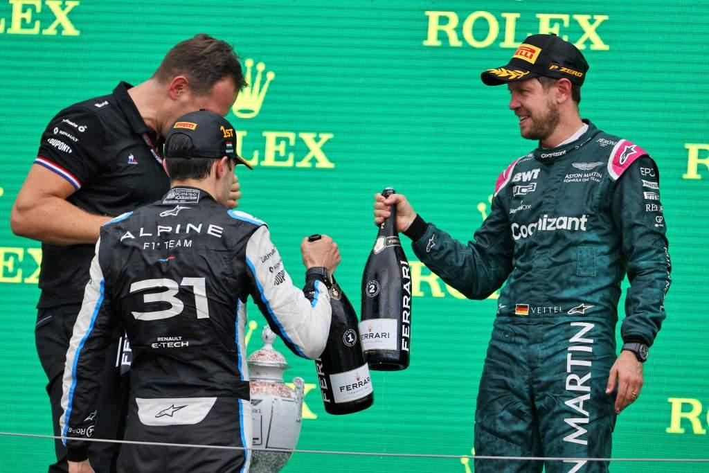 Motor Racing Formula One World Championship Hungarian Grand Prix Race Day Budapest, Hungary