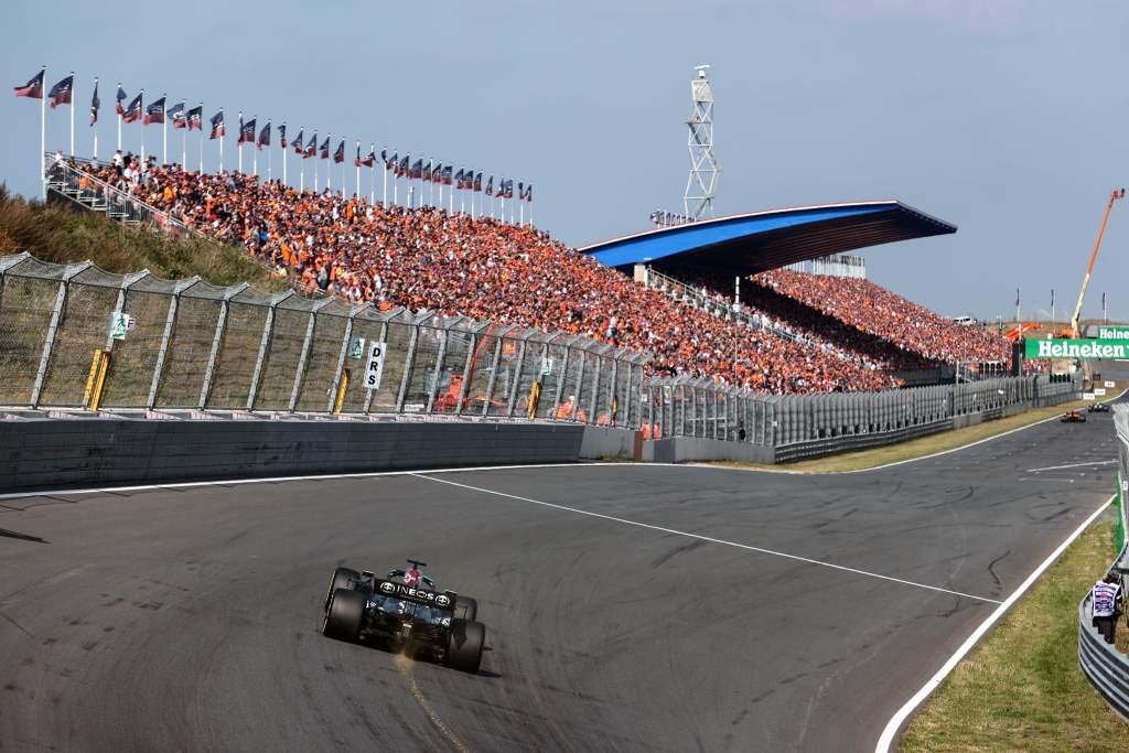 Motor Racing Formula One World Championship Dutch Grand Prix Practice Day Zandvoort, Netherlands