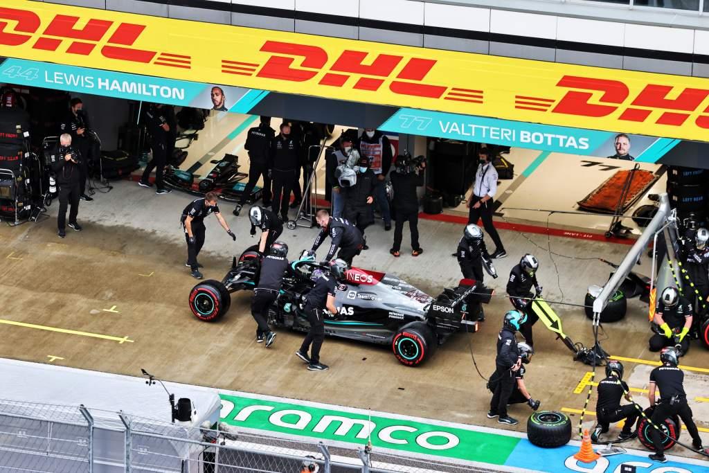 Hamilton explains 'embarrassing' Sochi pitlane incident - The Race