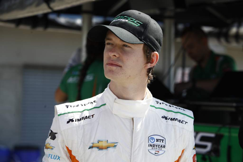 F1 tester Ilott gets full-time 2022 IndyCar seat with Juncos - The Race