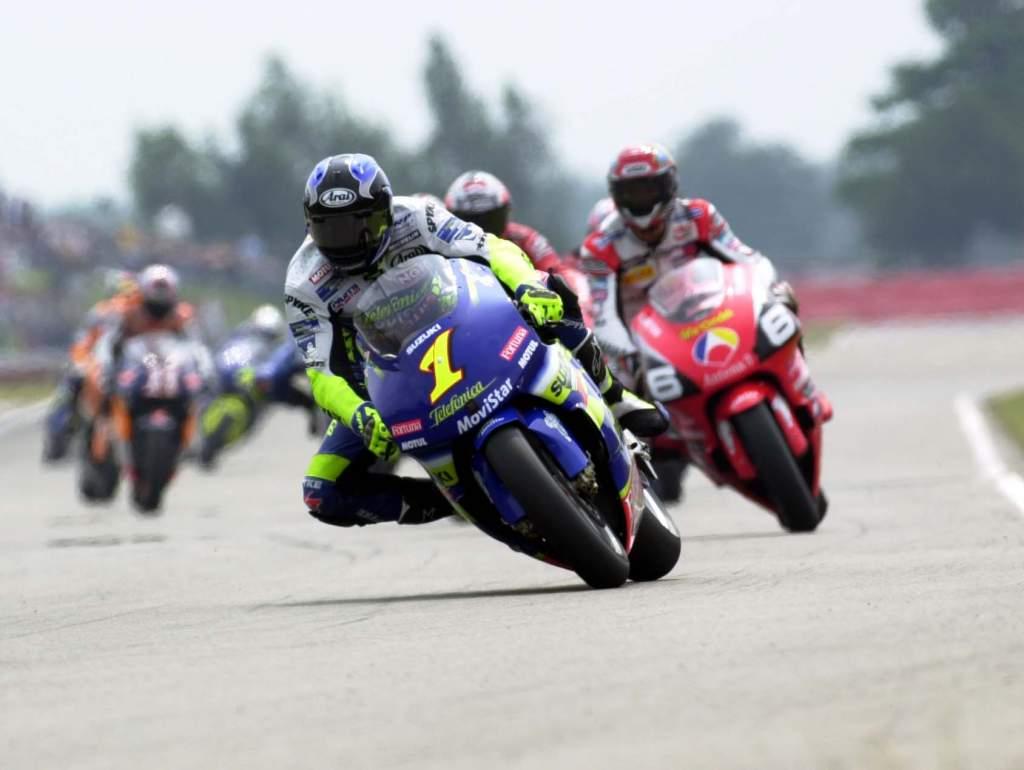 Kenny Roberts Jr Suzuki MotoGP 500cc