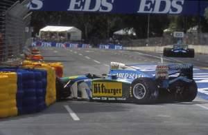 Damon Hill 1994 Adelaide F1 crash Michael Schumacher