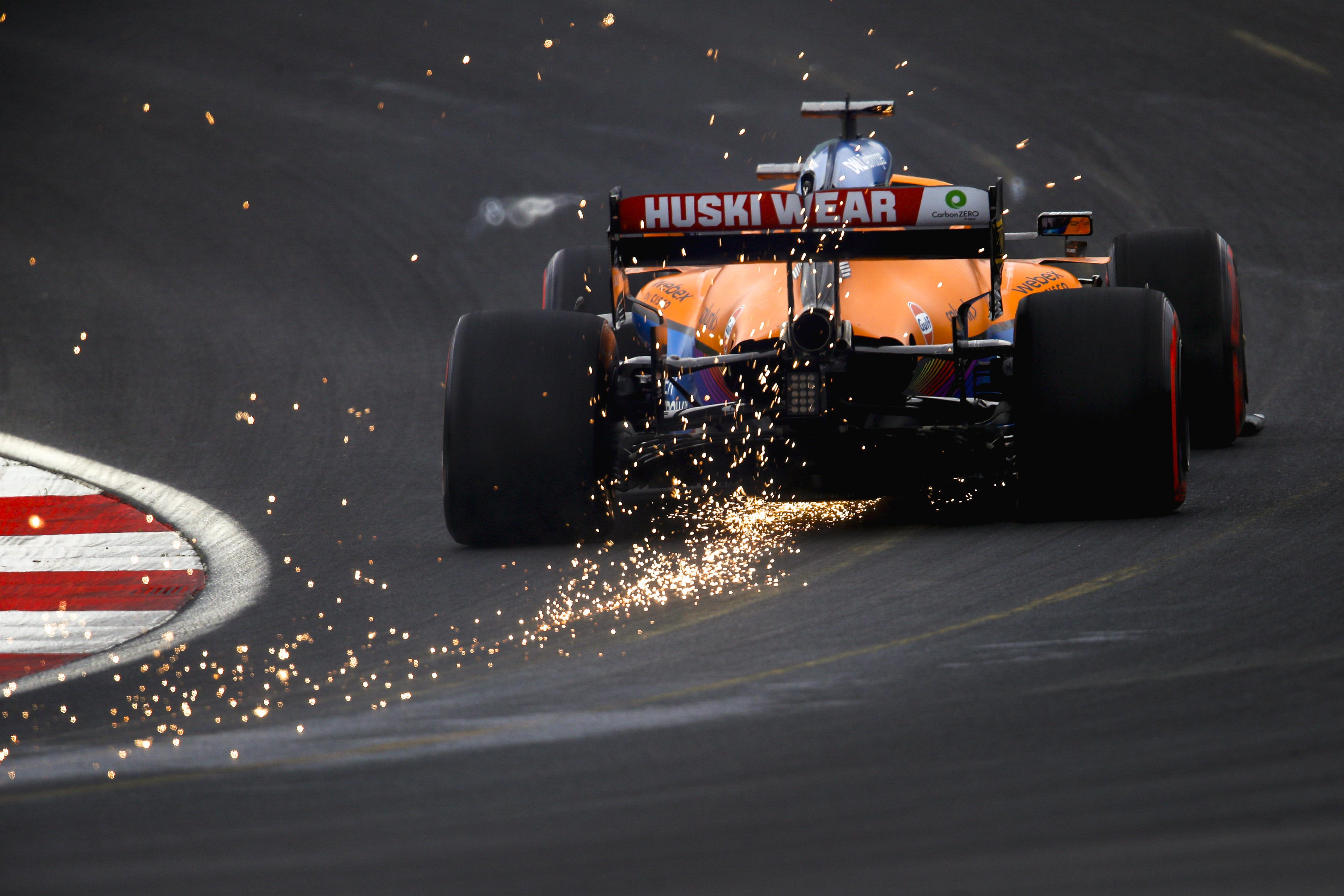 Daniel Ricciardo, Mclaren Mcl35m Exit Of Corner