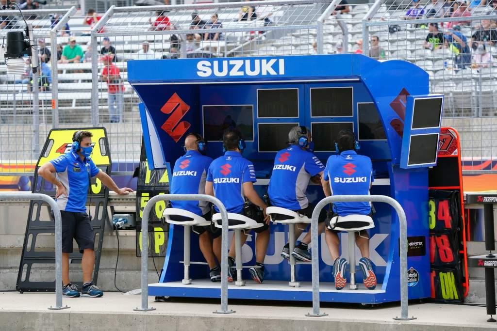 Suzuki MotoGP pitwall