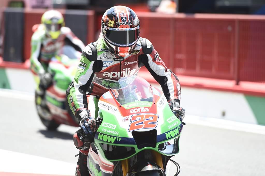 Sam Lowes Aprilia MotoGP