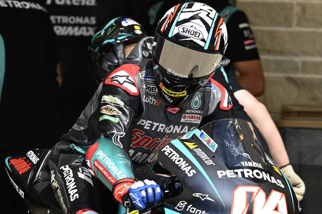 Andrea Dovizioso Petronas Yamaha MotoGP COTA