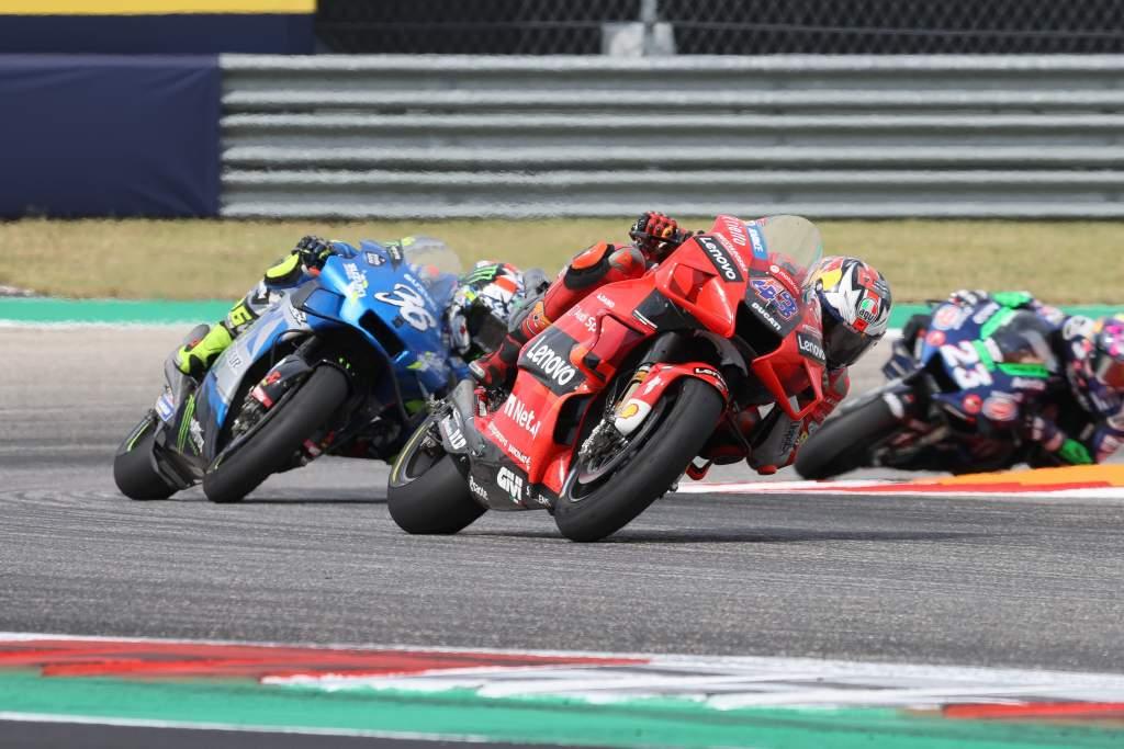 Jack Miller Ducati Joan Mir Suzuki MotoGP COTA