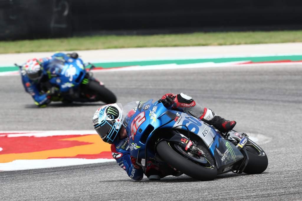 Alex Rins Joan Mir Suzuki MotoGP