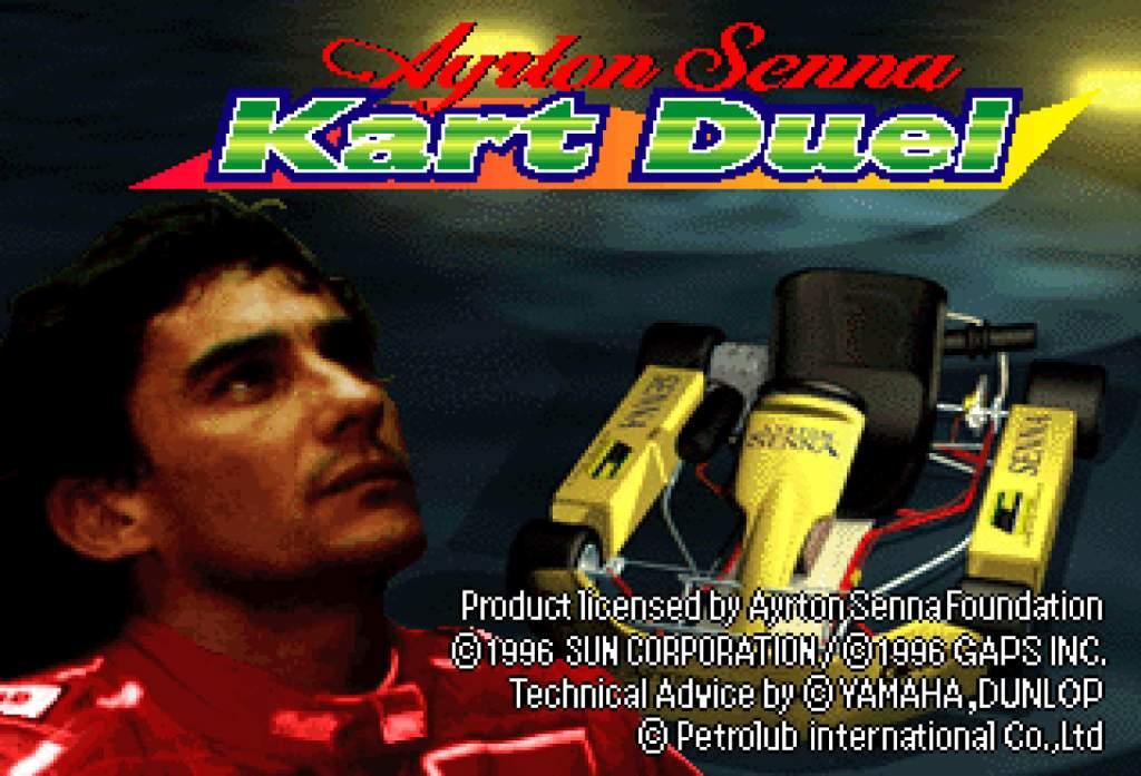 Ayrton Senna Kart Duel Pic 1