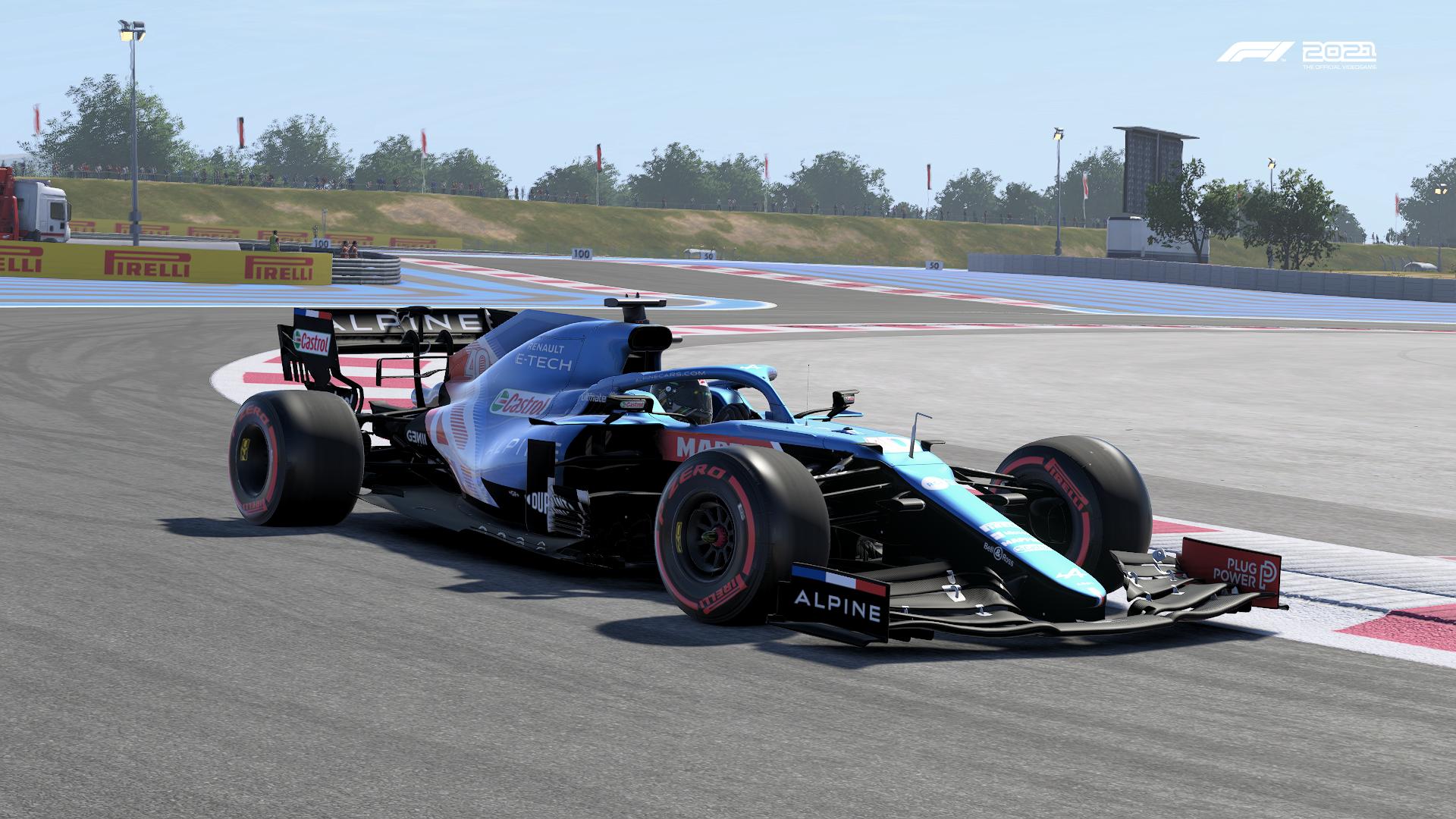 F1 2021 Alpine France Pic