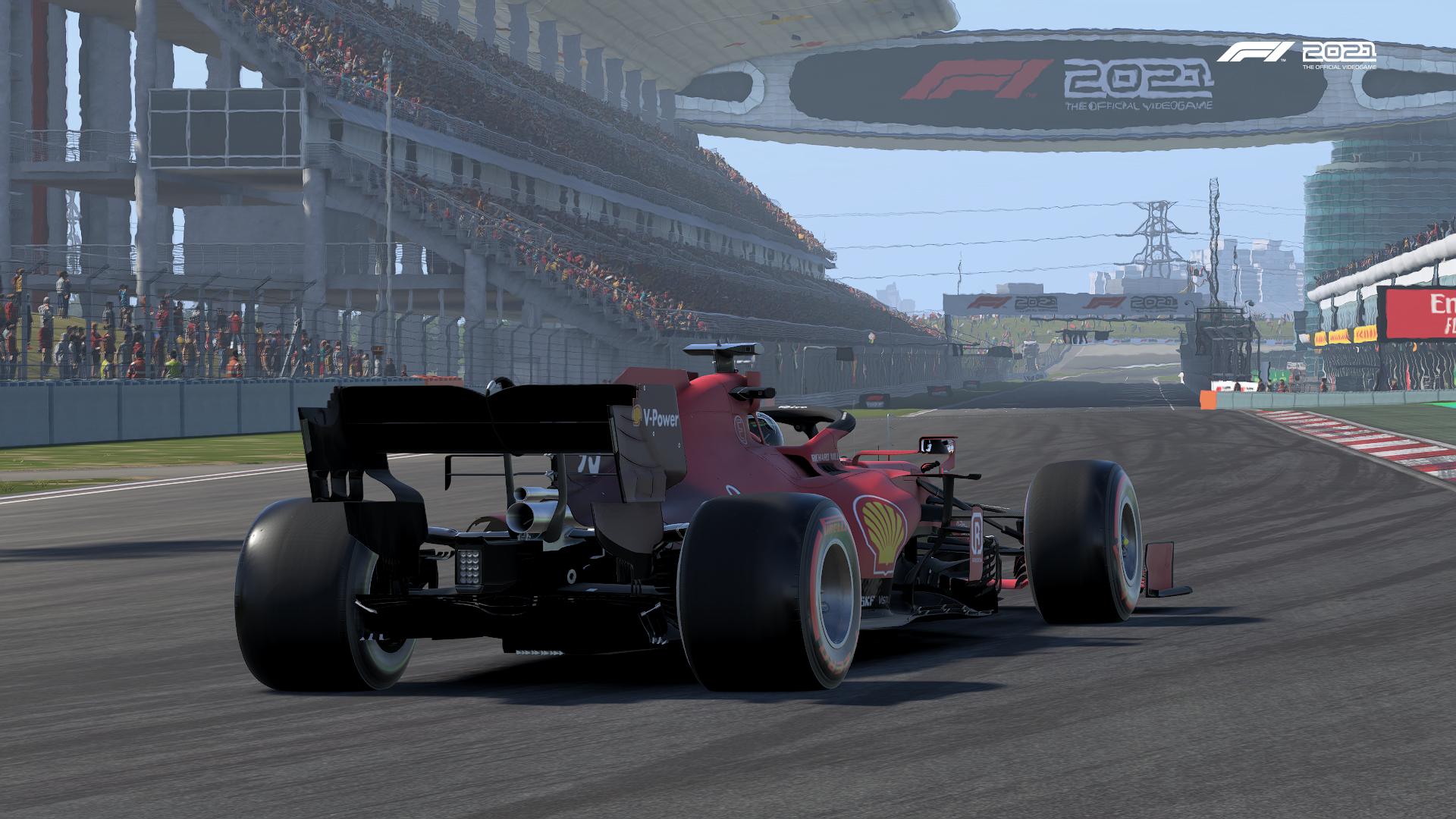 F1 2021 Ferrari China Pic
