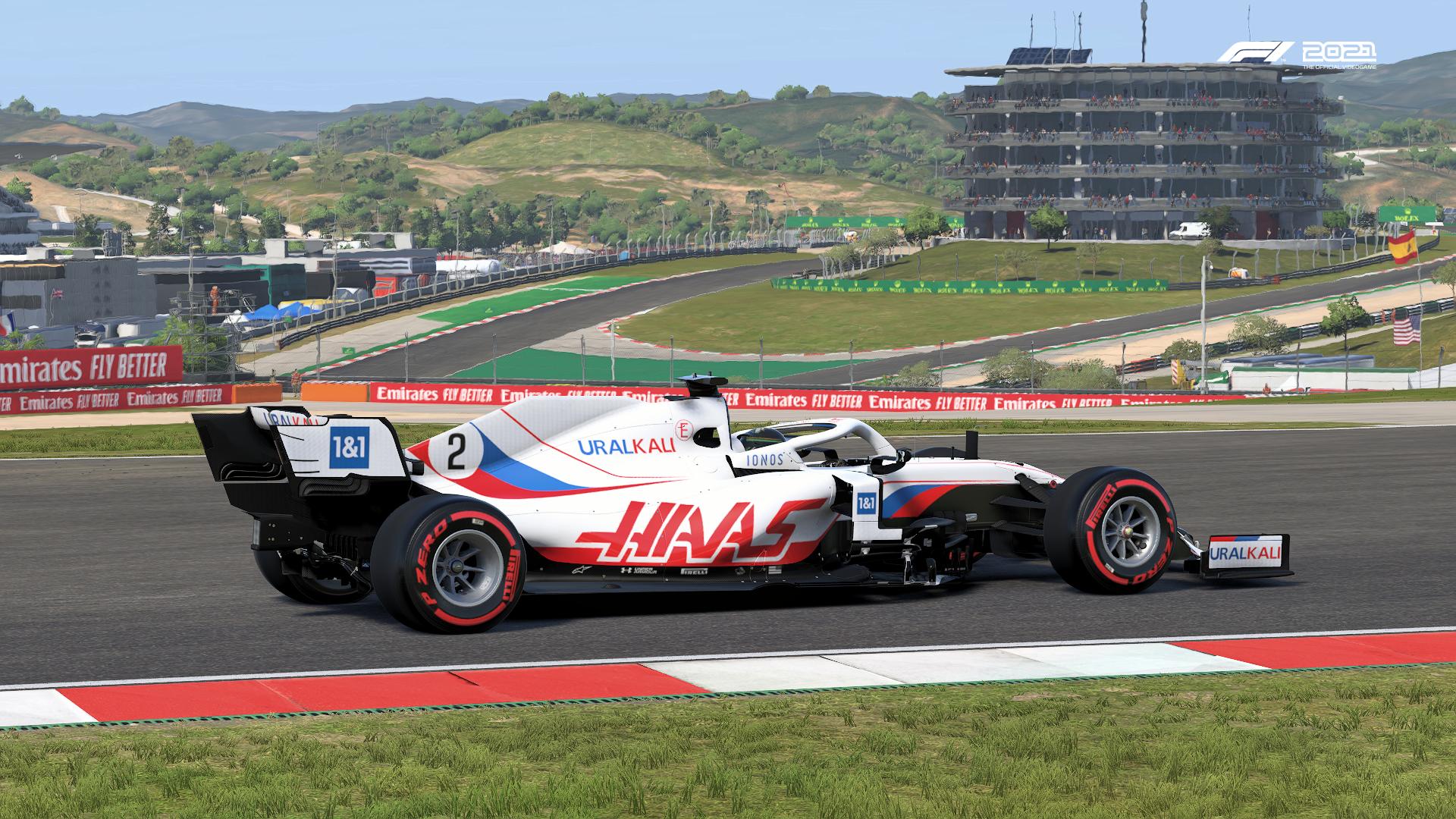 F1 2021 Haas Portugal Pic
