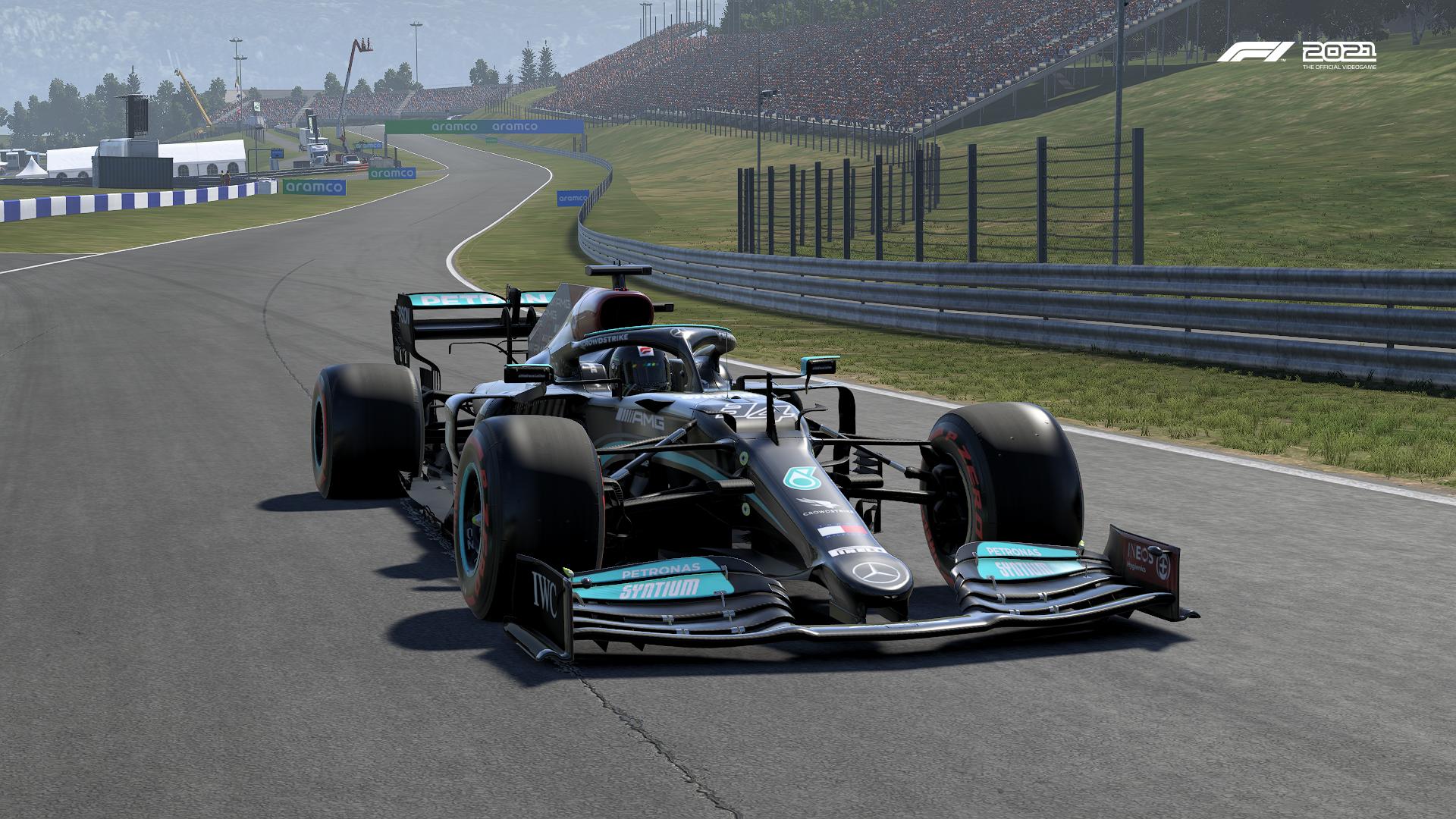 F1 2021 Mercedes Austria Pic 3