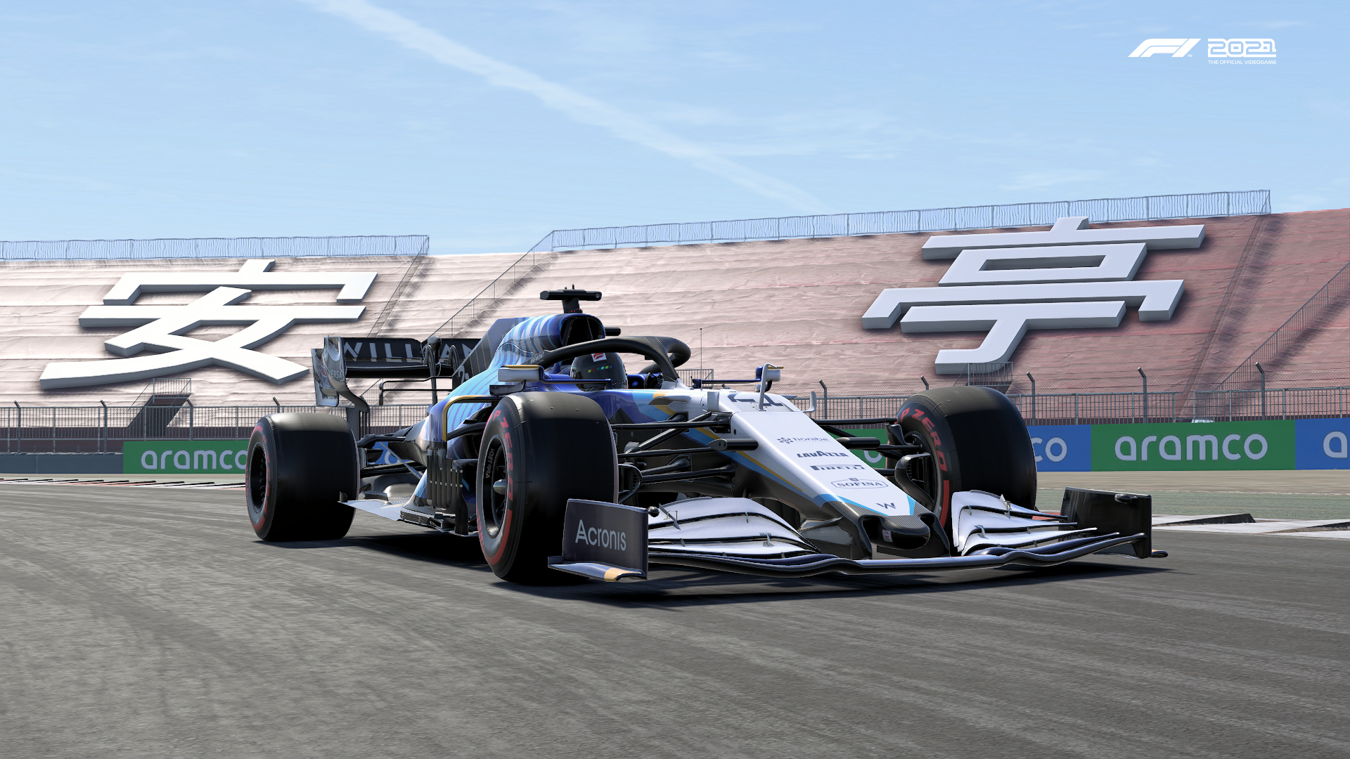 F1 2021 Williams China Pic 1