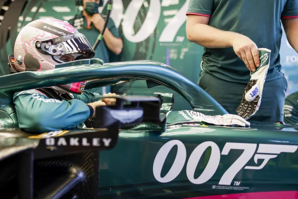 Aston Martin James Bond No Time To Die F1 livery