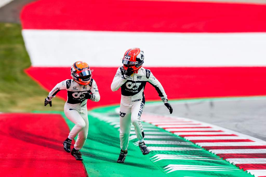 Gasly's doing to Tsunoda what Verstappen did to Gasly in 2019 - The Race