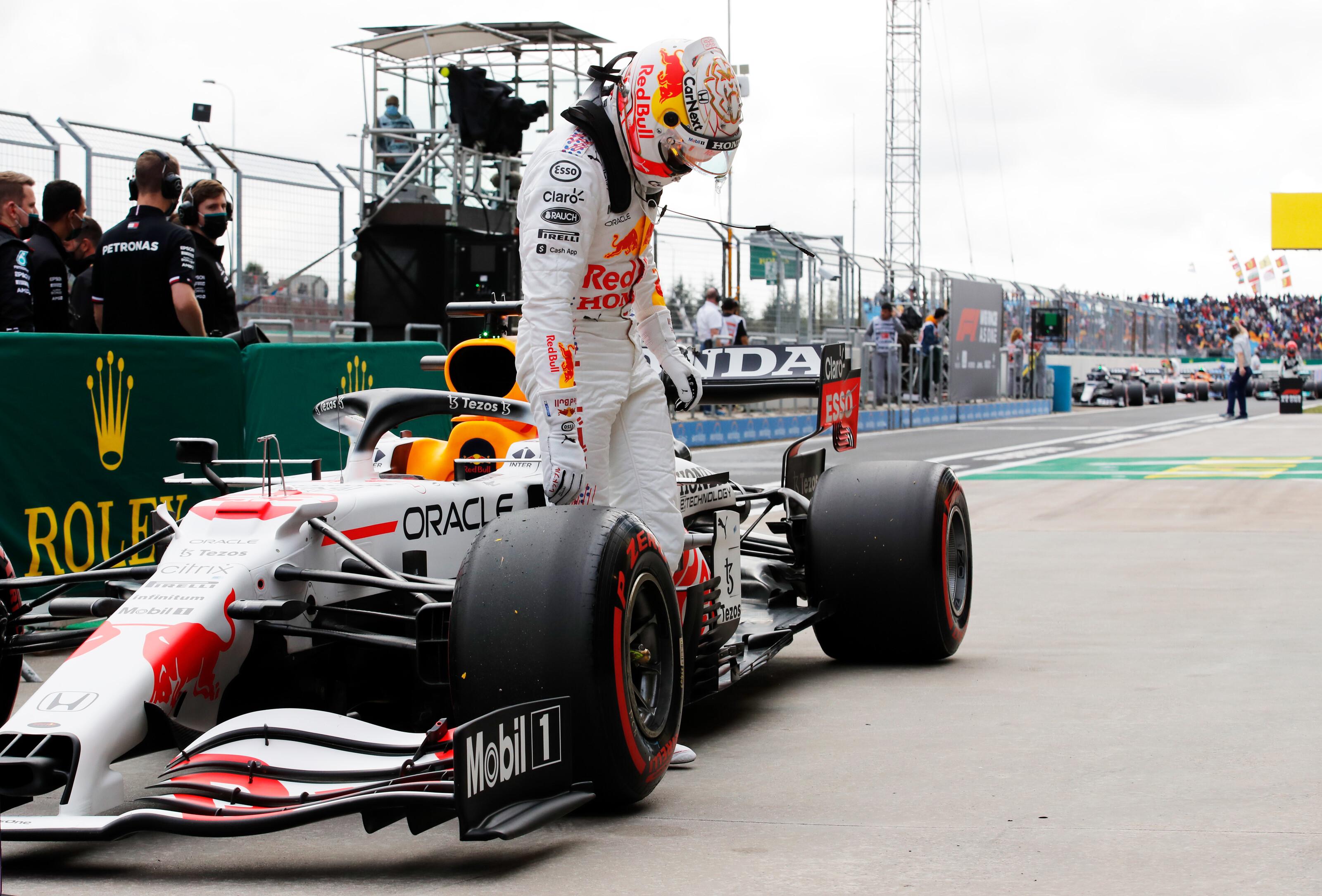 F1 Grand Prix Of Turkey Qualifying