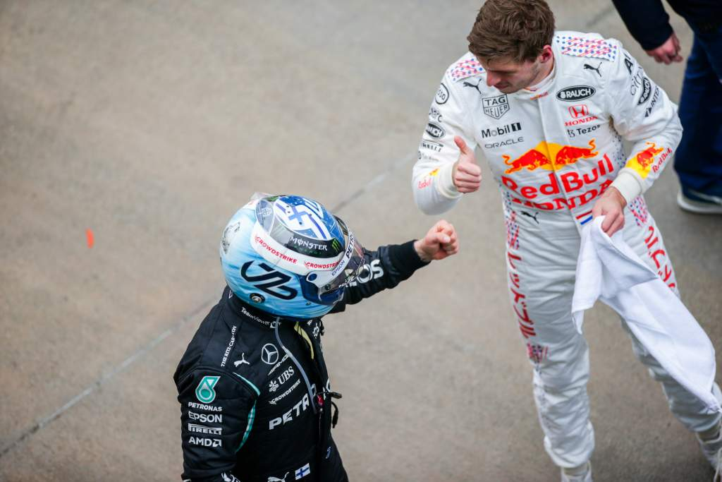 Valtteri Bottas Mercedes Max Verstappen Red Bull F1 Turkish GP
