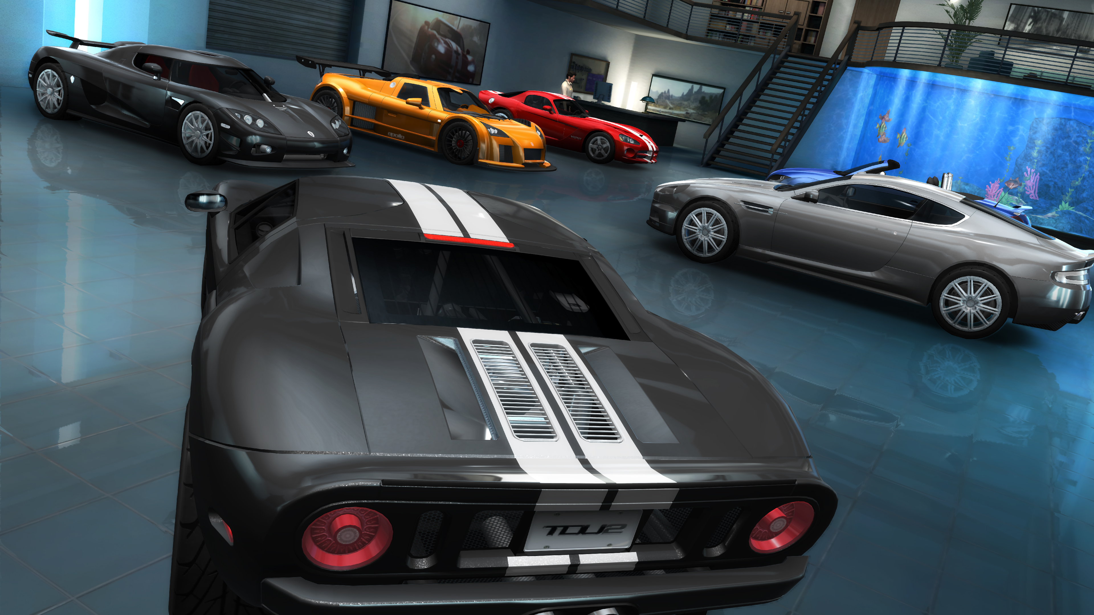Test Drive Unlimited 2 Garage Pic