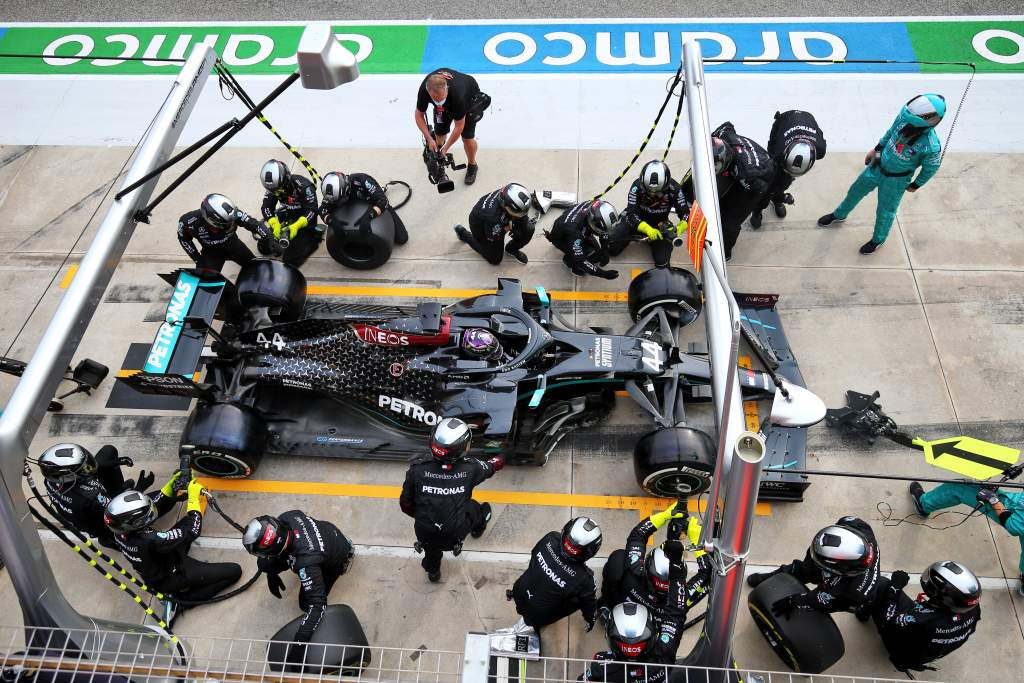 Gary Anderson: Hamilton gives Mercedes a strategic weakness - The Race