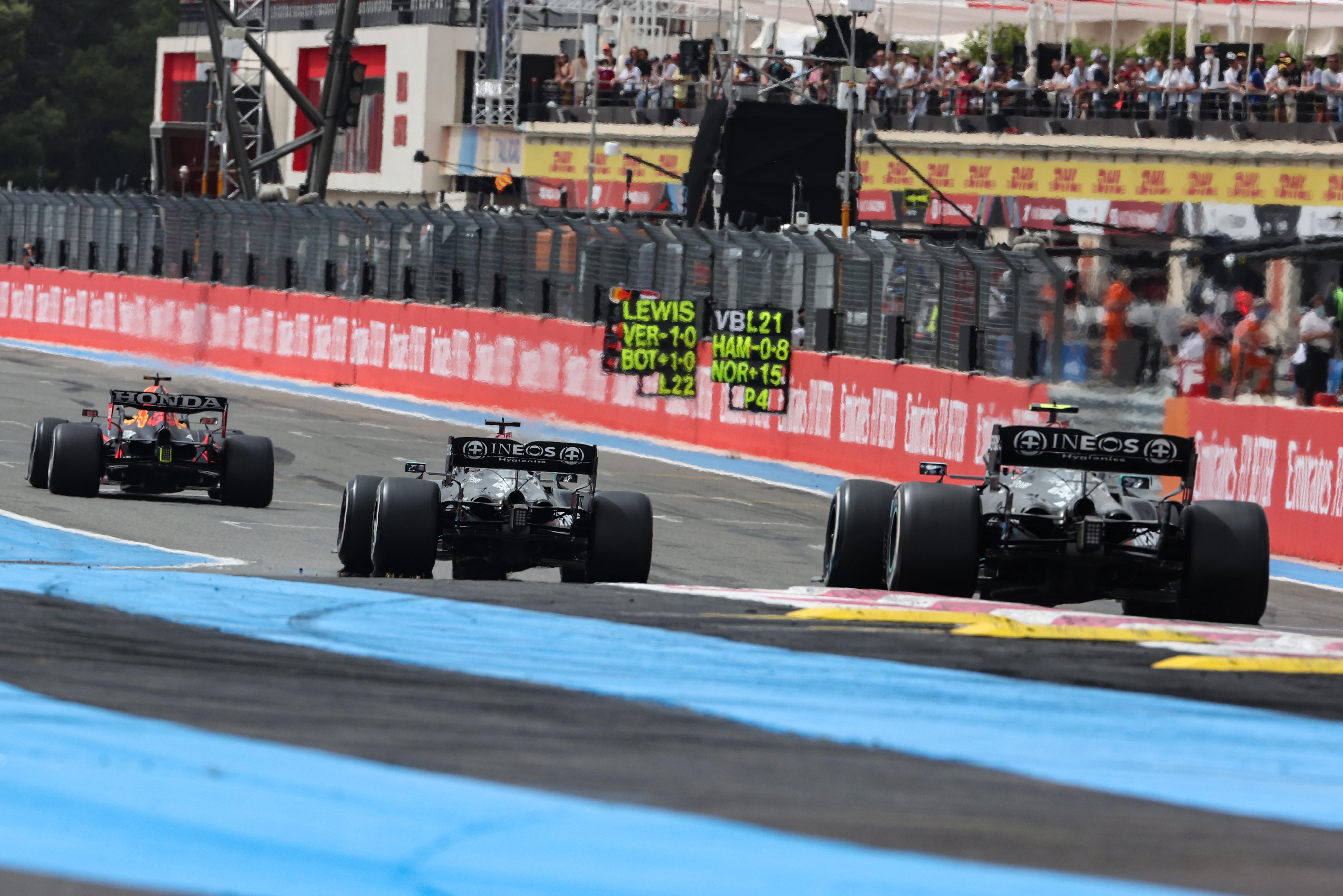 Motor Racing Formula One World Championship French Grand Prix Race Day Paul Ricard, France