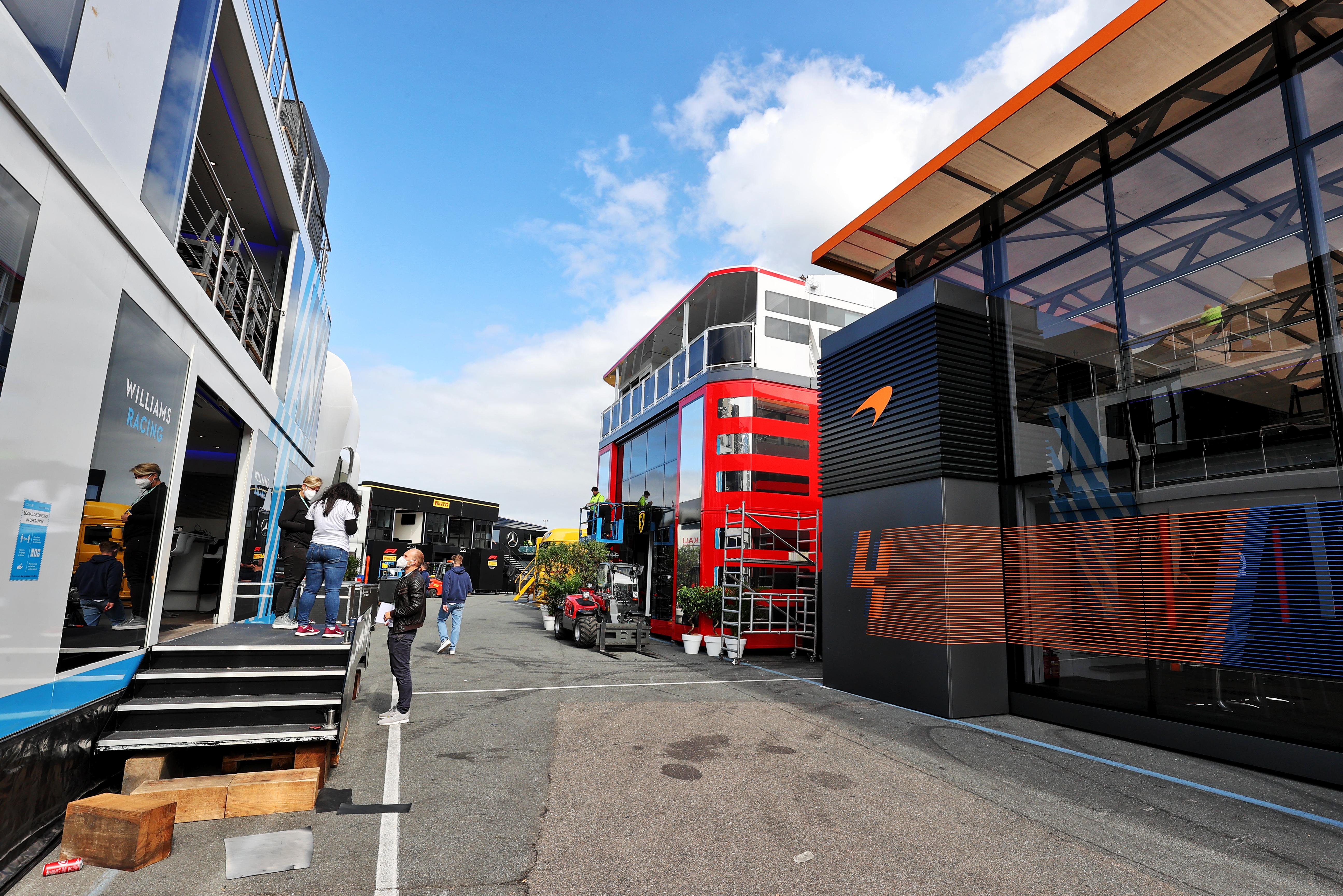 Motor Racing Formula One World Championship Dutch Grand Prix Preparation Day Zandvoort, Netherlands