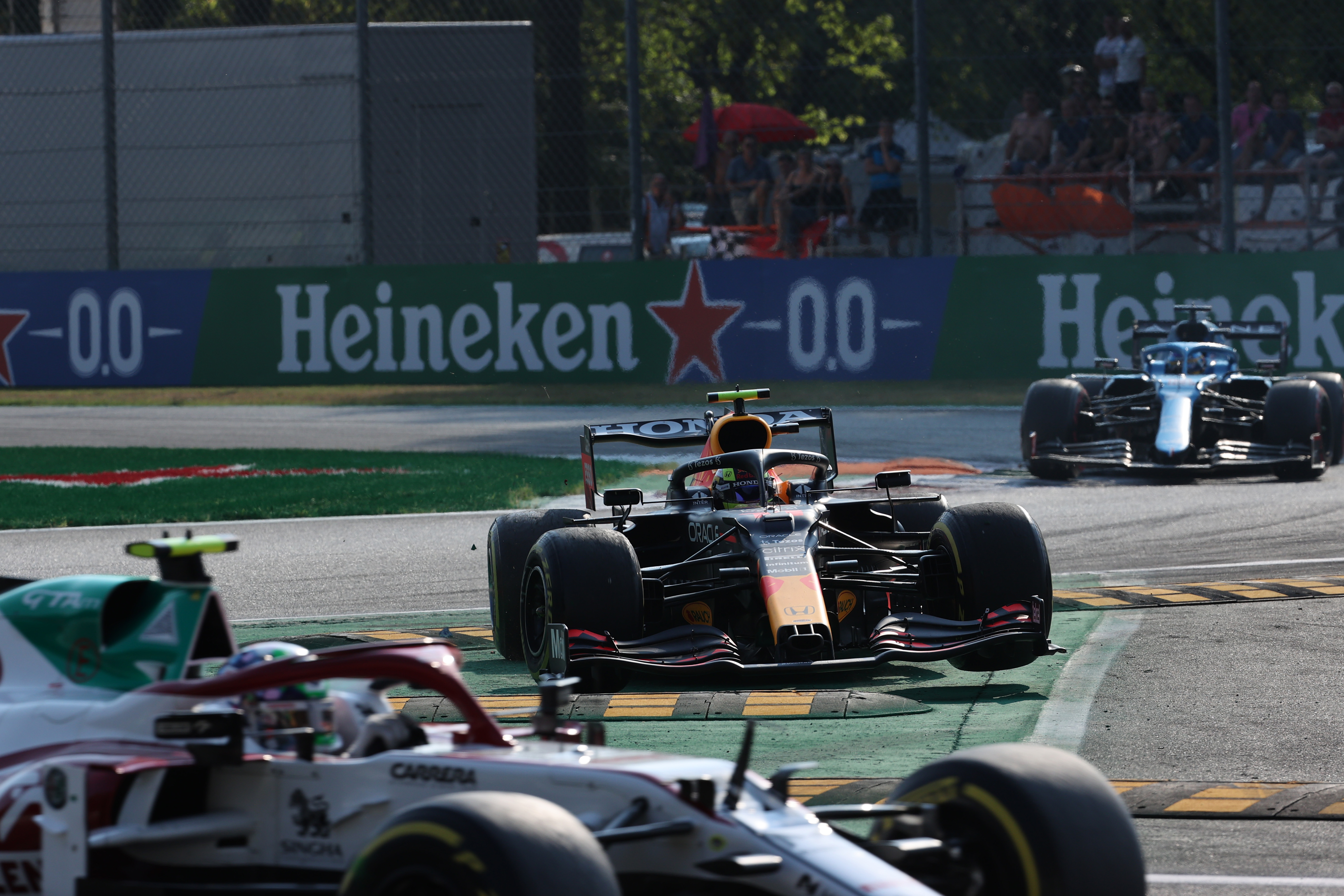 Motor Racing Formula One World Championship Italian Grand Prix Sprint Day Monza, Italy
