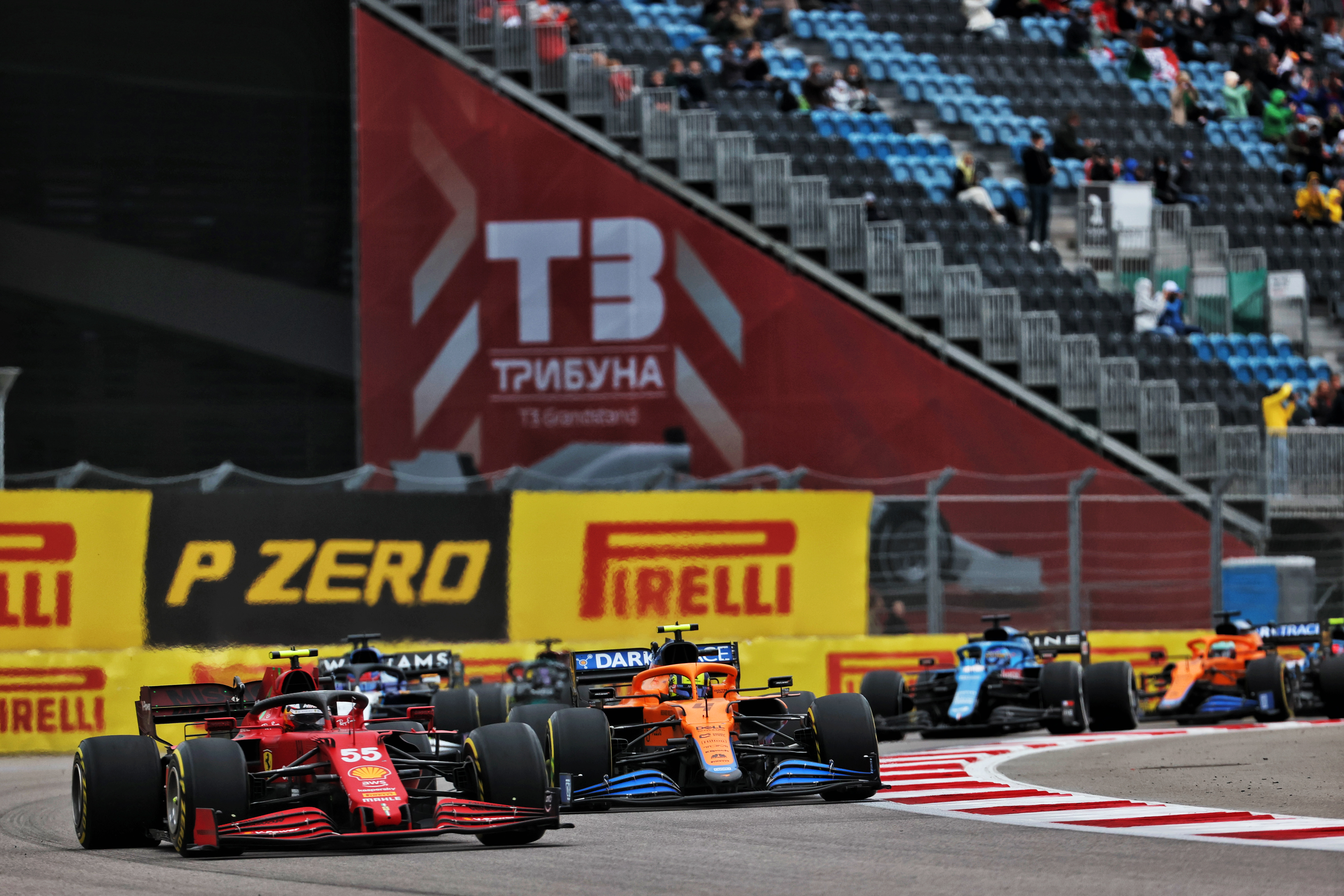 Motor Racing Formula One World Championship Russian Grand Prix Race Day Sochi, Russia