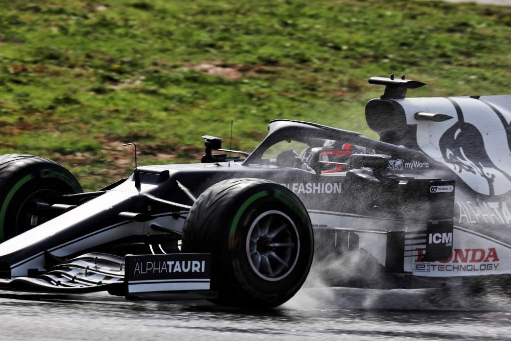 Yuki Tsunoda AlphaTauri F1 Turkish GP