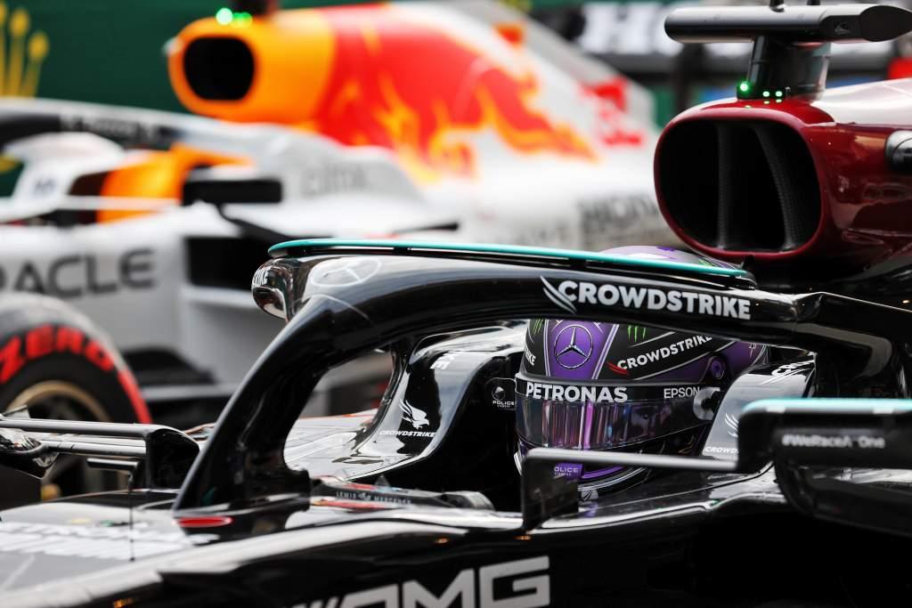 Lewis Hamilton Mercedes Max Verstappen Red Bull F1