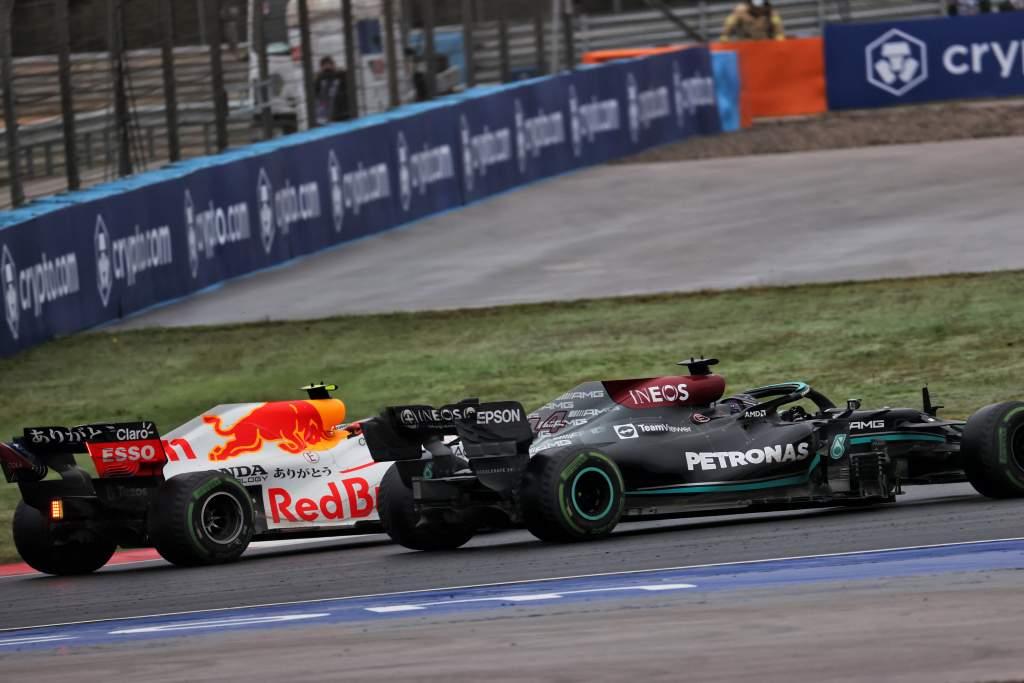 Sergio Perez Red Bull Lewis Hamilton Mercedes F1 Turkish GP