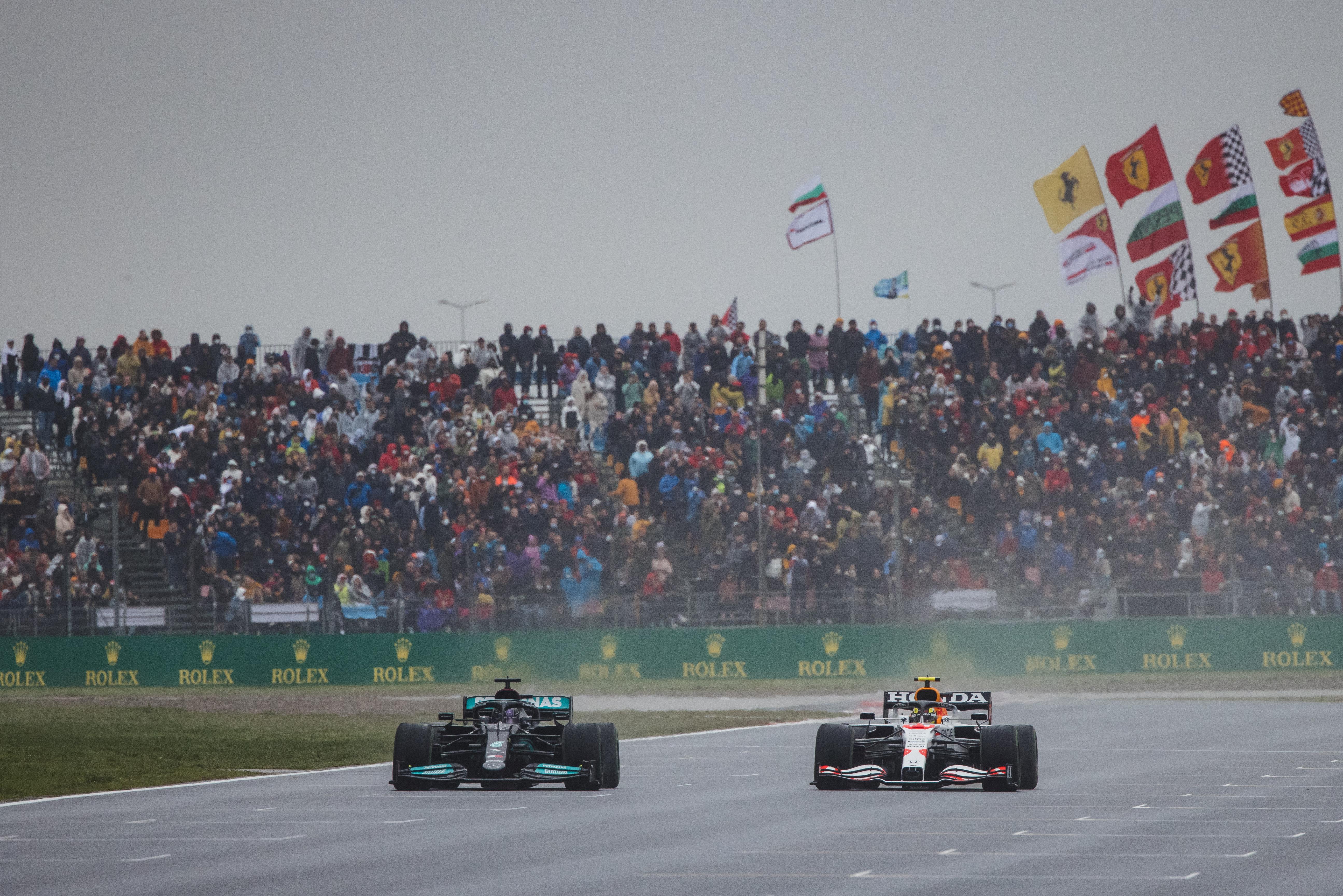 Motor Racing Formula One World Championship Turkish Grand Prix Race Day Istanbul, Turkey