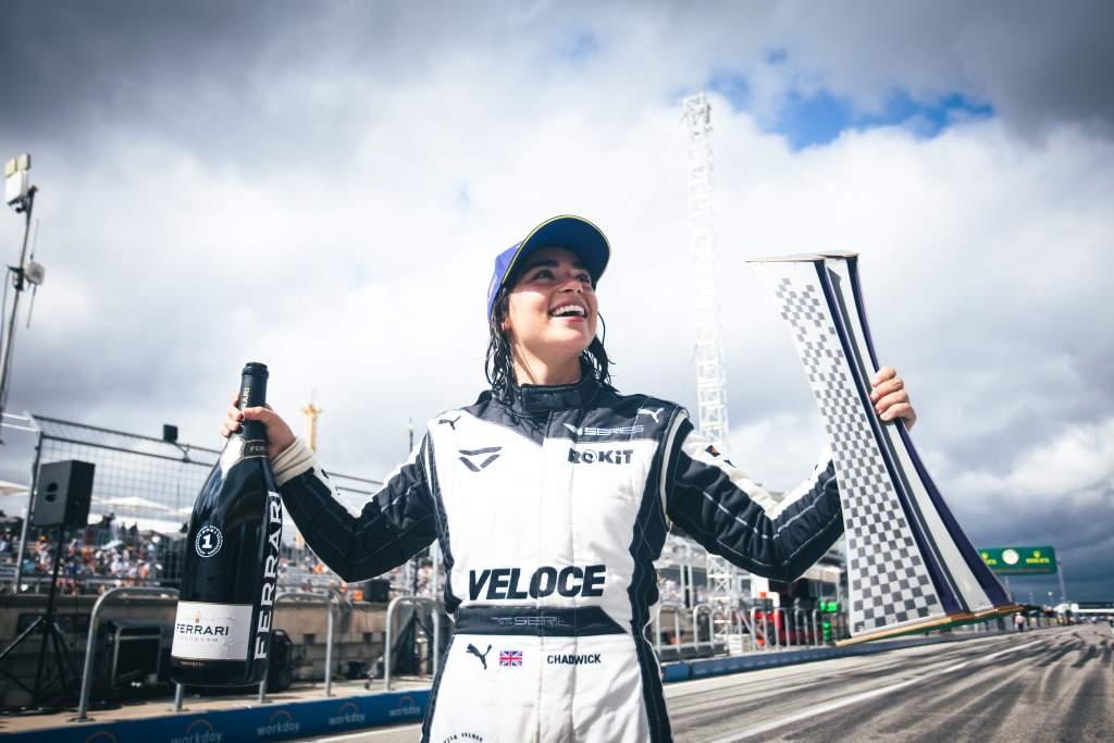 Motor Racing W Series Race Day Austin, Usa